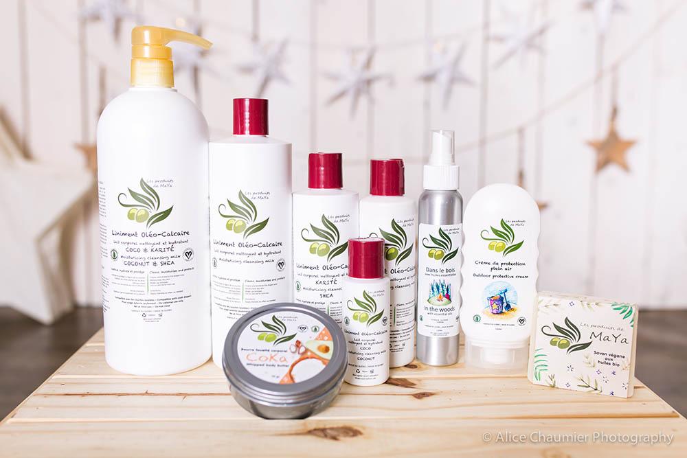 Les divers produits de Les produits de MaYa